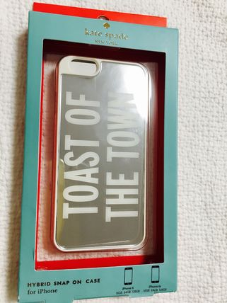 kate spade new york スマホケース・テックアクセサリー 国内発★kate spadeケイトスペード★iPhone6/6s★Toast of the t