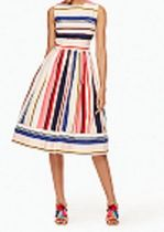 kate spade (ケイトスペード) berber stripe fit and flare