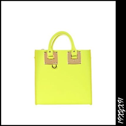 Free SOPHIE HULME Square Albion tote leather