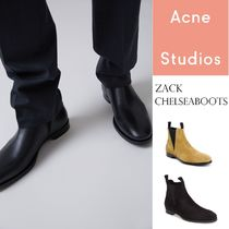 ACNE Zack suede Chelsea boots 弾性インサートチェルシーブーツ