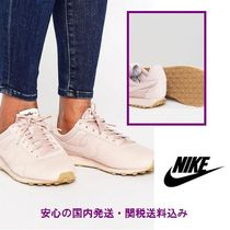 Nike Pre Montreal Premium Leather Trainers In Pink♪