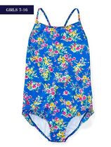 Ralph Lauren(ラルフローレン) 水着・ビーチグッズ 新作!大人もOK♪ FLORAL ONE-PIECE SWIMSUIT girls 7~16