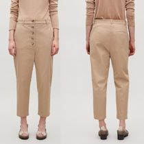 """COS(コス) パンツ  """"COS""""BUTTONED DROP-CROTCH TROUSERS BEIGE"""