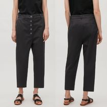 """COS(コス) パンツ  """"COS""""BUTTONED DROP-CROTCH TROUSERS BLACK"""