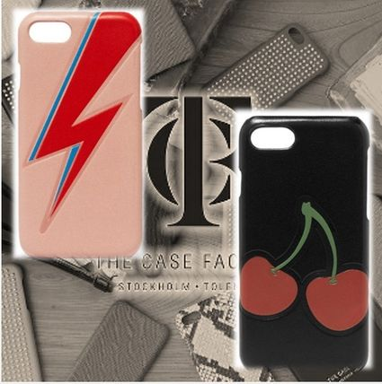 THE CASE FACTORY スマホケース・テックアクセサリー THE CASE FACTORY★数量限定 PHONE 7 かわいいプリント柄