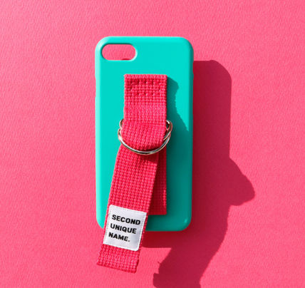 SECOND UNIQUE NAME スマホケース・テックアクセサリー ◆SECOND UNIQUE NAME◆SUN SUN CASE OPAL DEEP PINK (2)