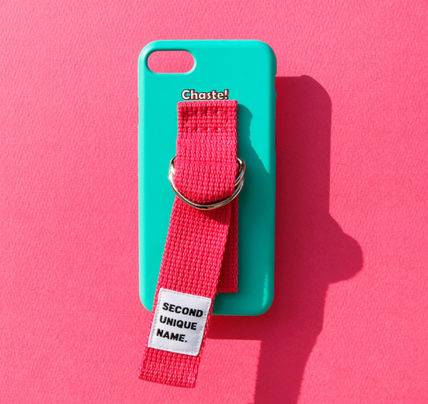 SECOND UNIQUE NAME スマホケース・テックアクセサリー ◆SECOND UNIQUE NAME◆SUN SUN CASE OPAL DEEP PINK (3)