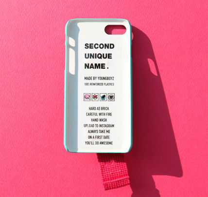 SECOND UNIQUE NAME スマホケース・テックアクセサリー ◆SECOND UNIQUE NAME◆SUN SUN CASE OPAL DEEP PINK (5)