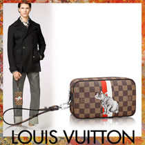 Louis Vuitton(ルイヴィトン) クラッチバッグ ★LOUIS VUITTON★ ポシェット ヴォルガ ダミエ・エベヌ