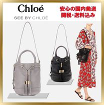 See by Chloe Vicki medium leather Bucket Bag【関税送料込】