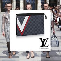 Louis Vuitton(ルイヴィトン) クラッチバッグ 2017SS新作 LouisVuitton AMERICA'SCUP クラッチバック