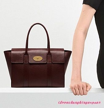 Mulberry トートバッグ 国内発 | MULBERRY  New Bayswater トートバッグ  Oxblood