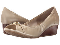 Cole Haan(コールハーン) パンプス 大人気★Tali Open Toe Knot Wedge 40★