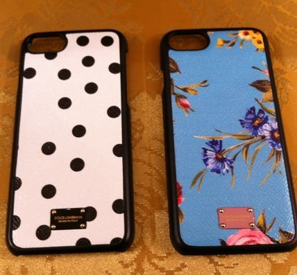 17 SSMambo collection Dolce &Gabbana leather iPhone case 7