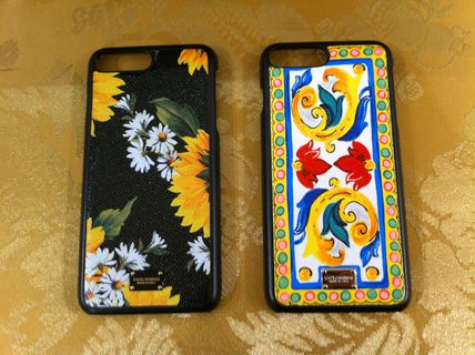 17 SSMambo collection Dolce &Gabbana leather iPhone7Plus