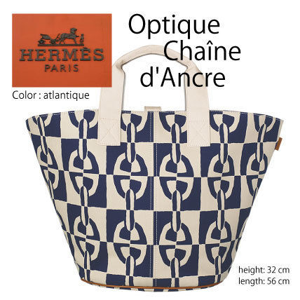 HERMES トートバッグ Optique Chaine d'Ancre H102328M 01