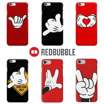 ☆RED BUBBLE fingers iPhoneケース6種☆送関込