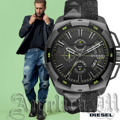 ★安心ヤマト便★DIESEL Heavy Weight Denim Watch DZ4420