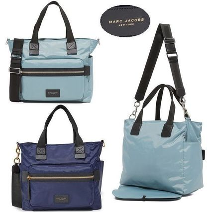 国内入荷☆MARC JACOBS Nylon Biker Baby Bag マザーバッグ
