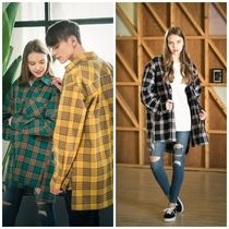 COSTUME O'CLOCKのOVERSIZED F3C CHECK SHIRTS 全3色