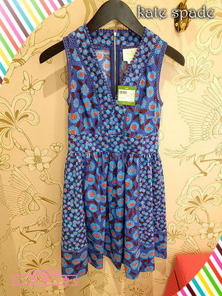 kate spade new york ワンピース モロッコの魅力kate spade★tangier floral fit and flare dress