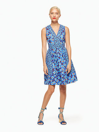 kate spade new york ワンピース モロッコの魅力kate spade★tangier floral fit and flare dress(5)