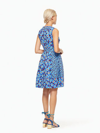 kate spade new york ワンピース モロッコの魅力kate spade★tangier floral fit and flare dress(7)