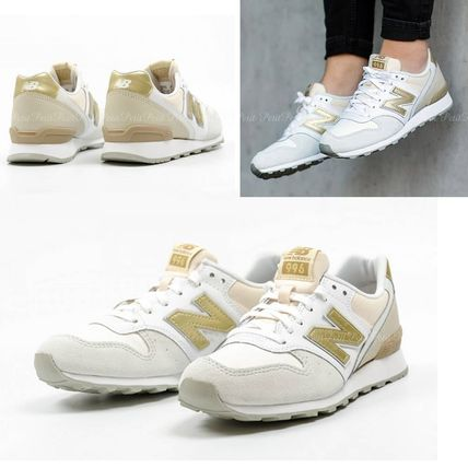 White / Gold new balance WR996 IE