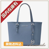 SALE 国内発送 Michael Kors small travel tote indigo ブルー