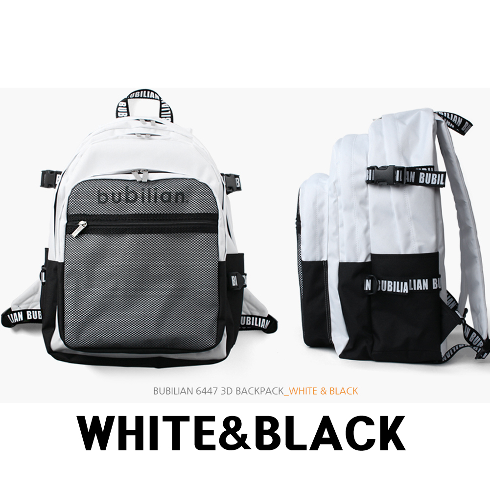 9色、人気商品、再入庫★BUBILIAN★6447 3D backpack+KEY RING