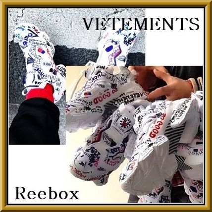 VETEMENTSxReebox Limited Edition collaboration sneakers