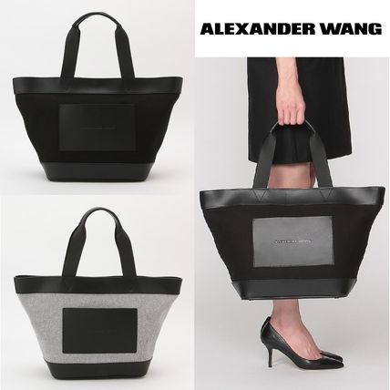 Alexander Wang canvas _AW tote _