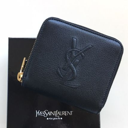 "Nice ""YSL Saint Laurent"" bifold wallet black"