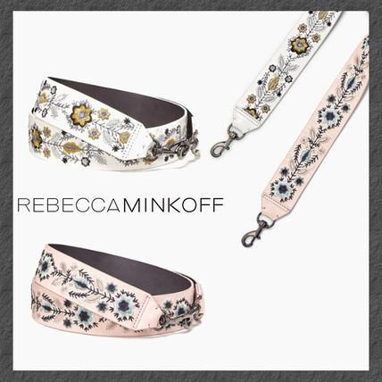 NEW◆BAGストラップ◆RM◆FLORAL EMBROIDERY GUITAR STRAP