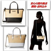 【sale ♪】kate spade 2WAY Cedar Street Straw Harmony Bag