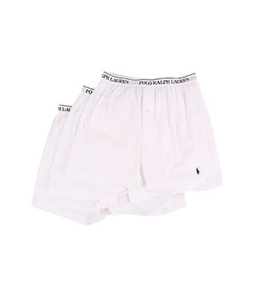Ralph Lauren★3-Pack Knit ボクサー White