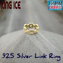 LA発ストリート☆King Ice☆人気のHipHopリング Link Ring