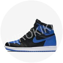 メンズ★NIKE AIR JORDAN 1 RETRO HIGH OG ROYAL ロイヤル 黒青
