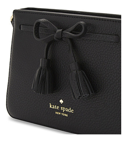 ★ kate spade ★Hayes Street Eniko leather ショルダーbag
