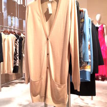 """HERMES 2017★CARDIGAN LONG""""EPERON D'OR""""★SOIE/CACHEMIRE"""