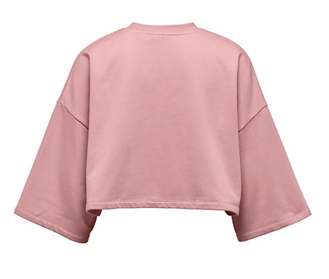 Fenty by Rihanna : CROPPED CREW NECK T-SHIRT★国内発送