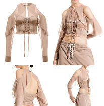 Fenty by Rihanna : MESH & BUSTIER TOP WITH SLEEVES★国内発送