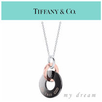 【Tiffany & Co】1837 Interlocking Pendant,titanium and metal