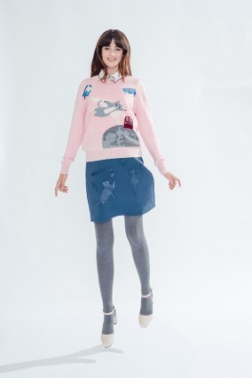 送料関税込み☆Miss Patina☆Cat Jumper