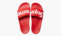 14S/S Supreme Slides Sandals Red Size 9 サンダル