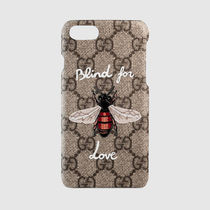【GUCCI】17SS新作★GGハチBlind for Love iPhone7ケース関税込