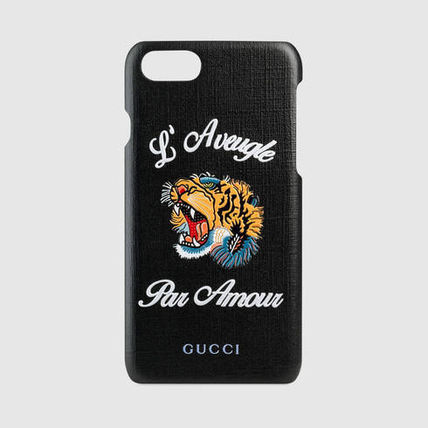 "【GUCCI】17SS新作★""L'Aveugle Par Amour""iPhone7ケース関税込"