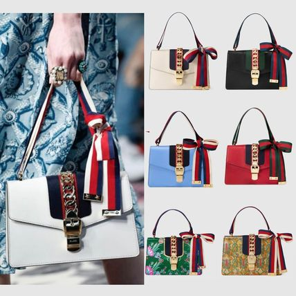 Gucci Web Ribon silvi bag white / black / red / blue / green