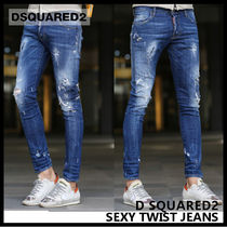 【D SQUARED2 ディースクエアード】SEXY TWIST JEANS 74LB0082