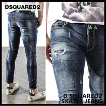 【D SQUARED2 ディースクエアード】SKATER JEANS 74LB0003